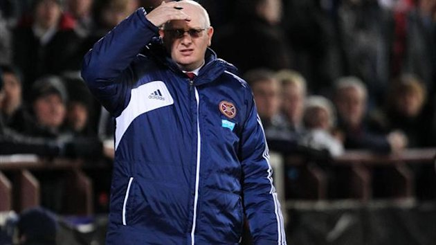 John McGlynn insists Hearts' performances will not be affected by their off-field problems