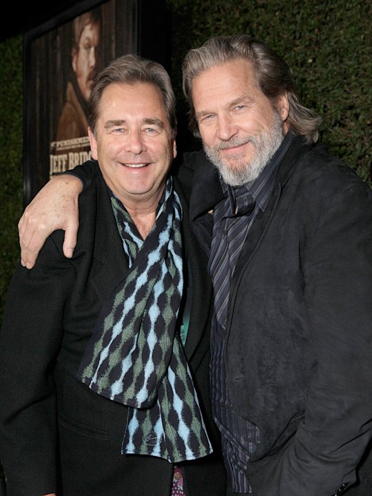 True Grit 2010 LA Screening Beau Bridges Jeff Bridges