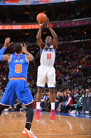 Holiday scores 35, leads 76ers over Knicks