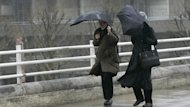 Areas of northern England, Wales and Scotland could expect up to 40mm of rain before the morning