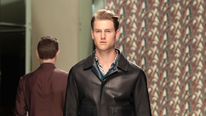 Ermenegildo Zegna: Runway - Milan Fashion Week Menswear Spring/Summer 2013