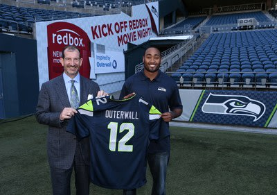 Seattle Seahawks and Outerwall Announce Charitable Partnership