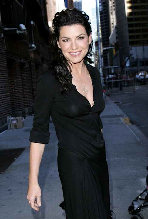 "Julianna Margulies of Canterbury's Law visits the ""Late Show With David Letterman""."