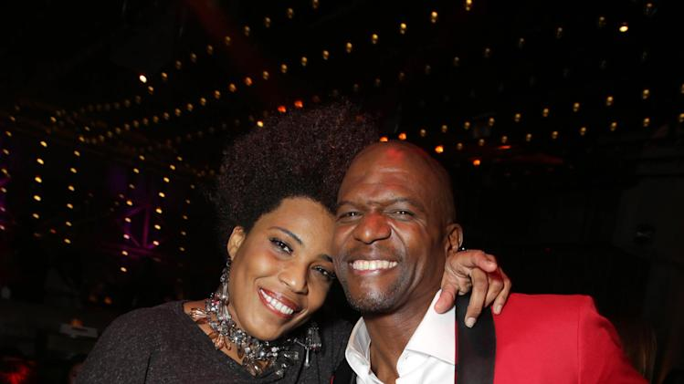 Macy Gray and Terry Crews seen at The World Premiere of TYLER PERRY'S 'The Single Moms Club' presented by Lionsgate on Monday, Mar. 10, 2014 in Los Angeles. (Photo by Eric Charbonneau/Invision for Lionsgate/AP Images)