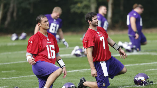 Cassel to start at QB against Steelers at Wembley