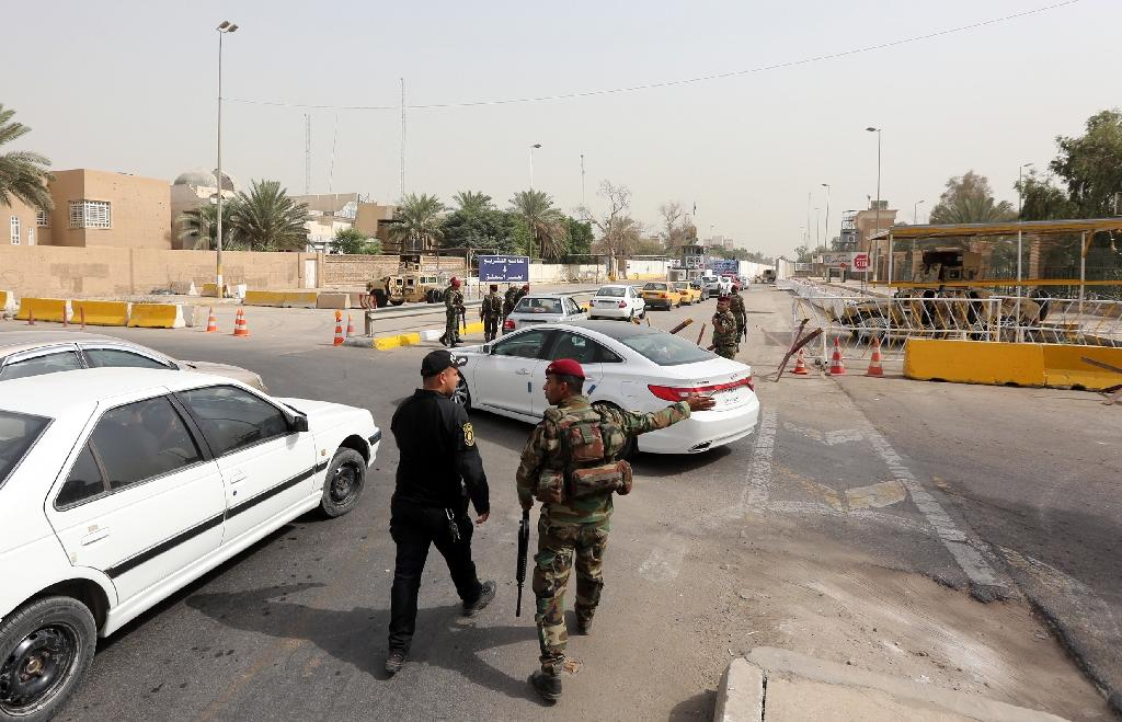 US protests Baghdad opening Green Zone to traffic
