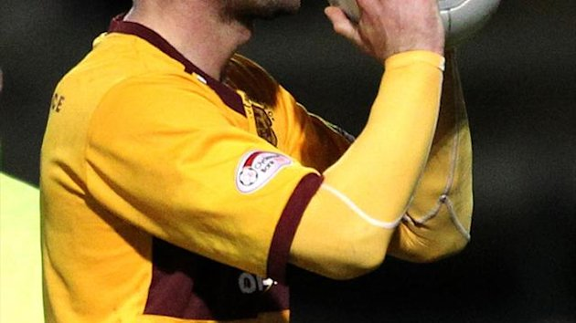 The league's second top-scorer Michael Higdon has played a key role for Motherwell this season