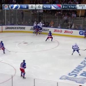 Ryan Callahan Hit on Dan Boyle (01:47/2nd)