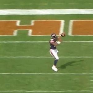 Chicago Bears running back Matt Forte one-handed 10-yard touchdown catch
