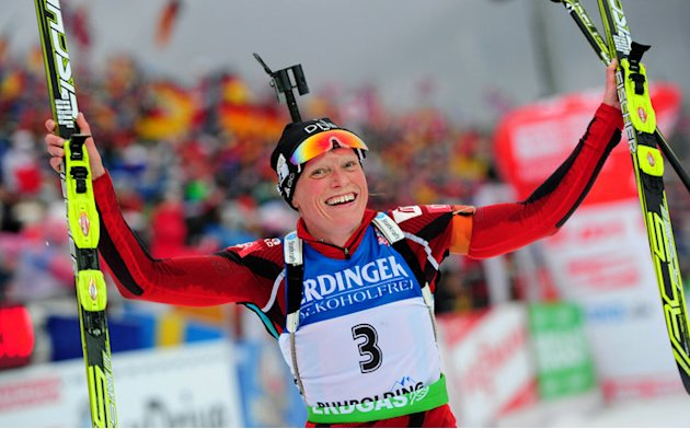 Norway's Tora Berger Celebrates AFP/Getty Images