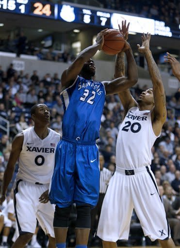 Xavier beats No. 16 Saint Louis 77-66 in OT
