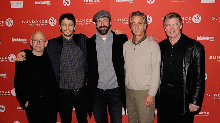 2010 Sundance Film Festival Events Bob Balaban James Franco Jon Hamm David Strathairn Treat Williams