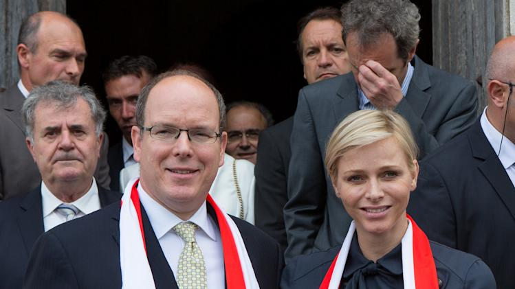Prince Albert II Of Monaco And Princess Charlene of Monaco On Official Visit In Corsica