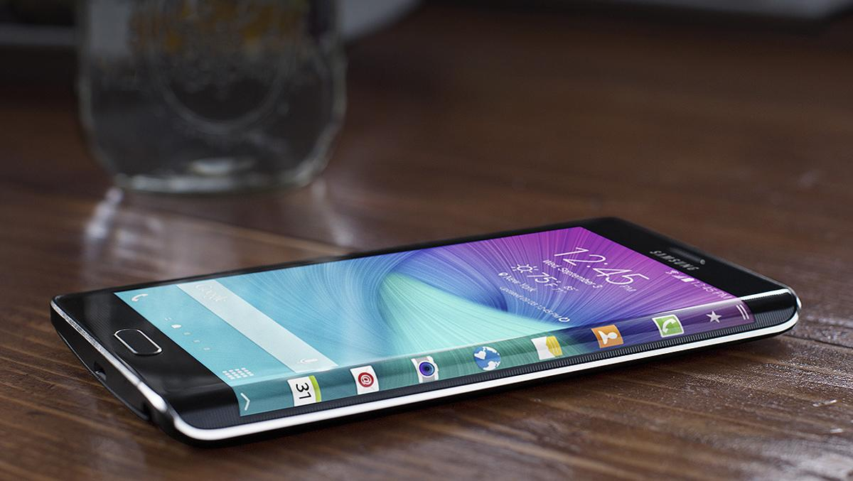 Huge leak: Samsung Galaxy S6 Edge pictured for the first time