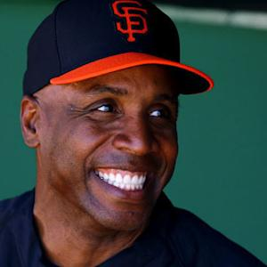 Barry Bonds in Giants camp