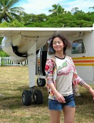 Kim Tae Hee's 'bombed hair' photo revealed