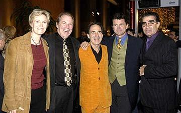 Premiere: Jane Lynch, Michael McKean, Harry Shearer, John Michael Higgins and Eugene Levy at the Hollywood premiere of Warner Bros. A Mighty Wind - 4/14/2003