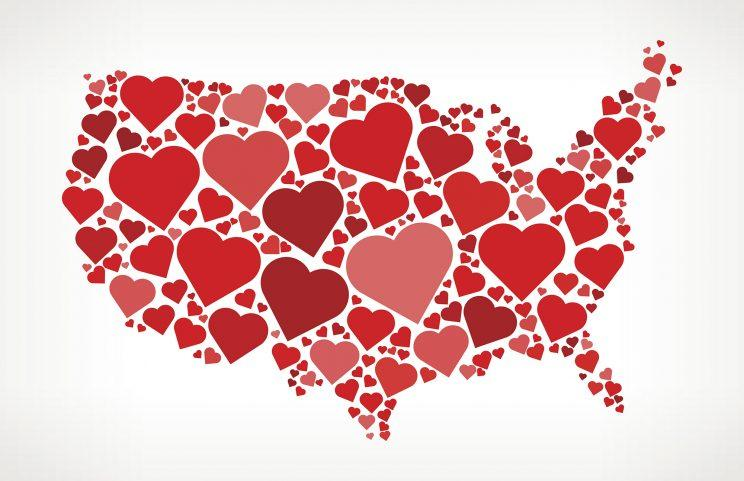 Study Attempts to Reveal Which States Have the Most Doomed Relationships