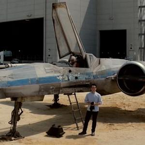 X-WING SEEN IN NEW STAR WARS TEASER