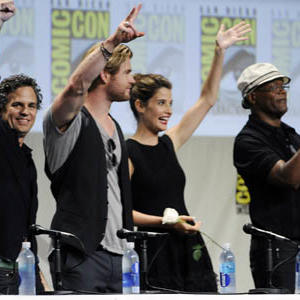 The Avengers Descend on Comic-Con