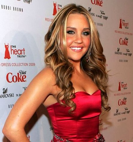 Amanda Bynes in 2009 at The Heart Truth's Red Dress Collection Fashion Show