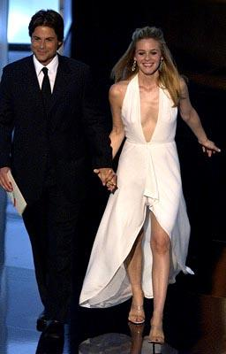 Rob Lowe, Alicia Silverstone 55th Annual Emmy Awards - 9/21/2003