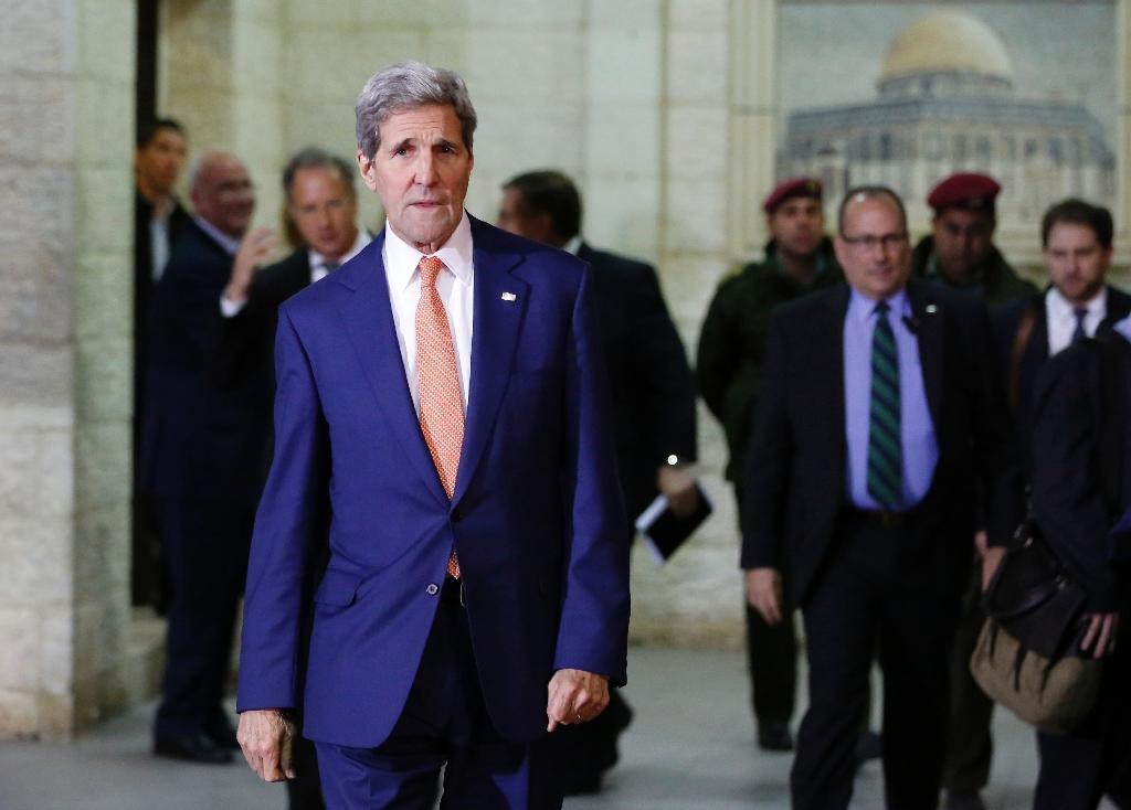 Kerry fears Israeli-Palestinian conflict may 'spin out of control'