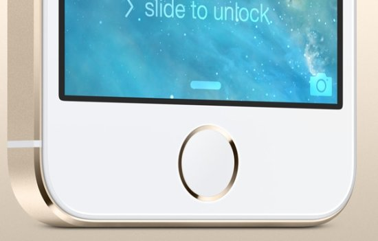 iPhone 5S 具備 Touch ID 指紋感應功能