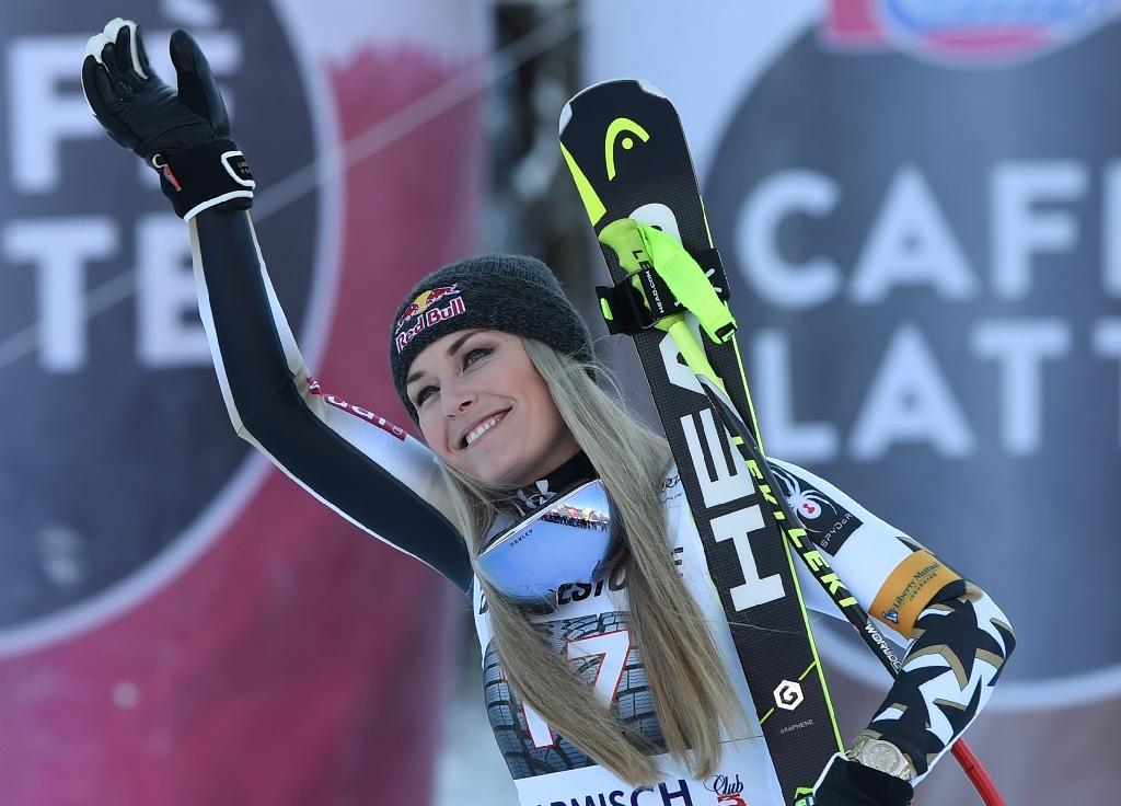 Ski star Vonn's tears of joy at first win after injury