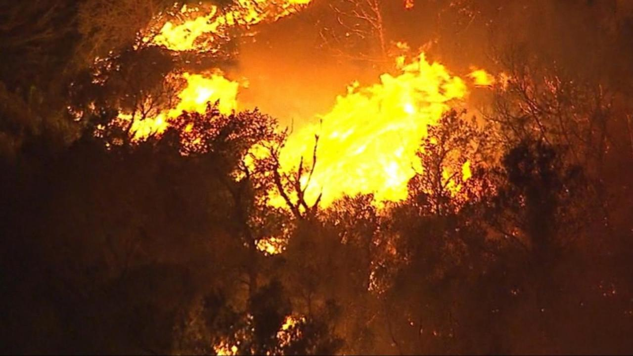Drought Fuels Fast-Moving California Wildfire