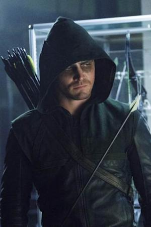 Stephen Amell as The Arrow in the 'League of Assassins' episode of 'Arrow' -- The CW