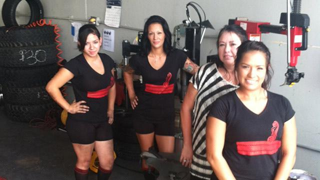'All Girls' Tire Shop Thriving in Texas