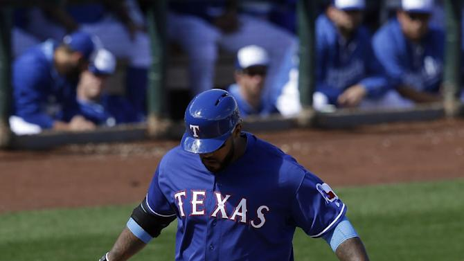 Darvish 4 Ks, Fielder HR in Texas 11-7 win over KC