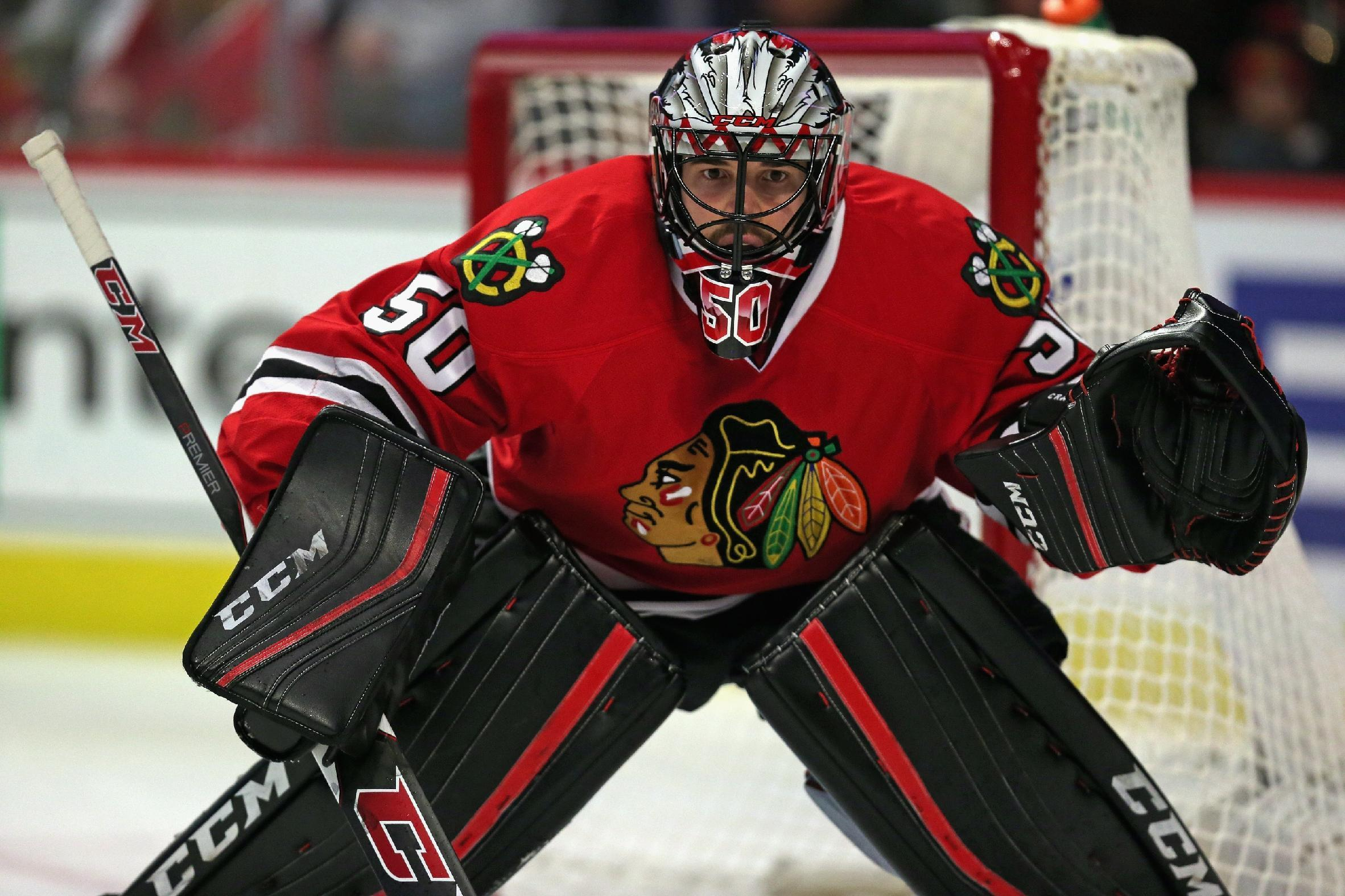 Shuffle Up: Corey Crawford rules the world