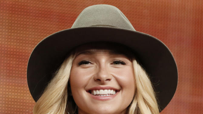 """FILE - In this Friday, July 27, 2012 file photo, Hayden Panettiere attends the """"Nashville"""" panel at the Disney ABC TCA Day 2 at the Beverly Hilton Hotel in Beverly Hills, Calif. While Panettiere is pretending to be a country music singer on TV, she's learning how to be one in real life. (Photo by Todd Williamson/Invision/AP, File)"""
