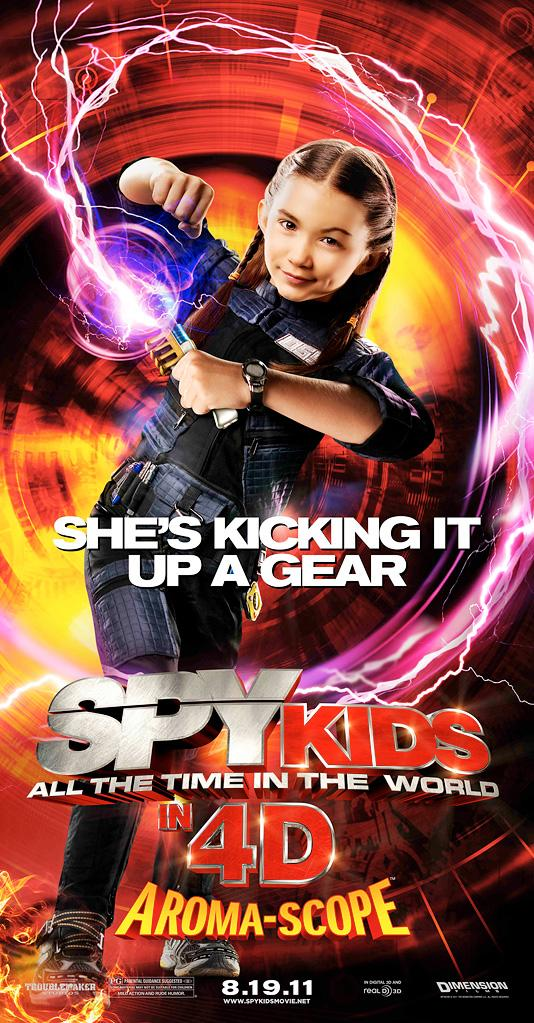 Spy Kids All the Time In the World Banners 2011