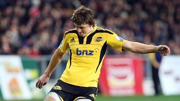 2011-12 Super Rugby Beauden Barrett of the Hurricanes (AAP - AUSTRALIA ONLY)