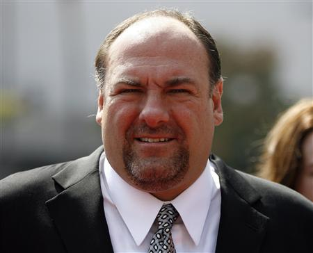 File photo of James Gandolfini attending the 2008 Primetime Creative Arts Awards in Los Angeles