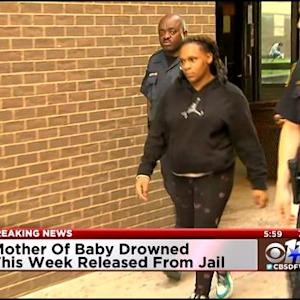 Mom Of Drowned Baby Leaves Dallas Jail