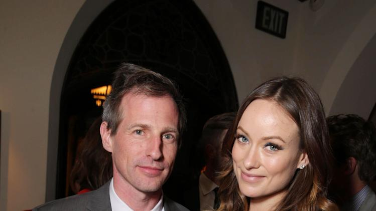 EXCLUSIVE CONTENT - PREMIUM RATES APPLY Director/Writer Spike Jonze and Olivia Wilde seen at The Los Angeles Premiere of Warner Bros. Pictures' 'Her', on Thursday, Dec. 12th, 2013 in Los Angeles. (Photo by Eric Charbonneau/Invision for Warner Bros. Pictures/AP Images)