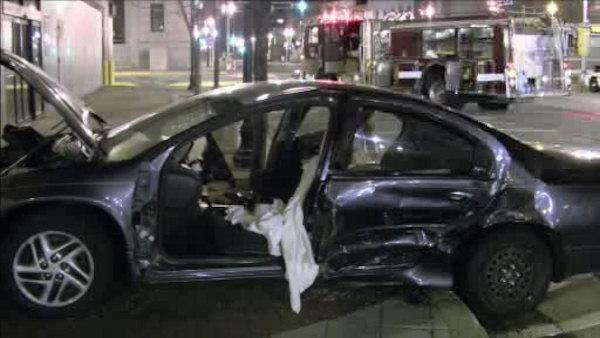 2 injured in Camden crash, driver faces DUI charges
