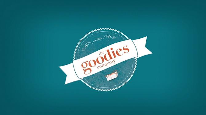 This still frame made from an undated video advertisement provided by Wal-Mart Stores Inc., shows the logo for the company's new mail subscription service, called Goodies, that lets shoppers discover new foods from the comfort of their homes. The program will officially launch on Wednesday, Nov. 14, 2012. For  a monthly fee of $7 that includes tax and shipping, customers get a box of five to eight hand-picked, sample-size food items, ranging from organic to ethnic products that are not currently carried on Wal-Mart's shelves. (AP Photo/Wal-Mart)