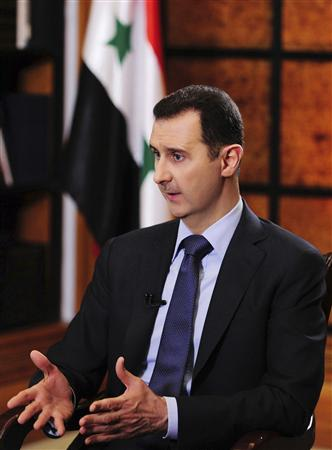 POUR BACHAR AL ASSAD, UNE CONFRENCE DE PAIX SUR LA SYRIE NE METTRA PAS FIN AU CONFLIT
