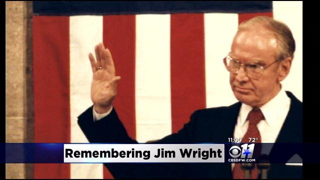 Former House Speaker Jim Wright dies at age 92