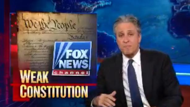 Jon Stewart Takes Fox News to Warp Speed on Boston Bombing Trial