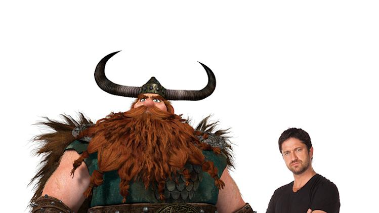 How to Train Your Dragon Production Photos 2010 DreamWorks Gerard Butler