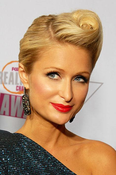 "We wonder if Paris Hilton is watching her aunts duke it out on ""The Real Housewives of Beverly Hills."""