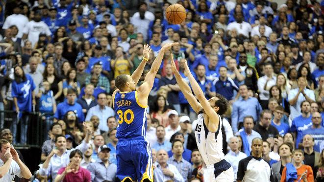 Stephen Curry's crazy OT buzzer-beater puts Warriors over Maver…