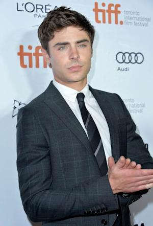 Zac Efron arrives at the 'Parkland' premiere during the 2013 Toronto International Film Festival at Roy Thomson Hall on September 6, 2013 in Toronto  -- Getty Images