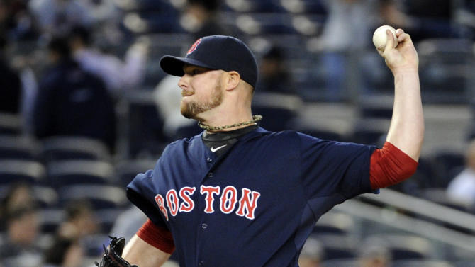 Sizemore, Gomes HRs lead Red Sox over Yankees 4-2